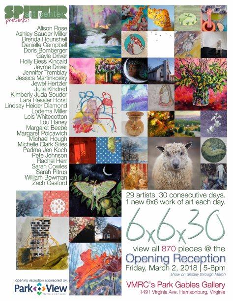 2018 Spitzer Art Center 6x6x30