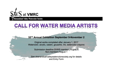 SVWS Call for Artists