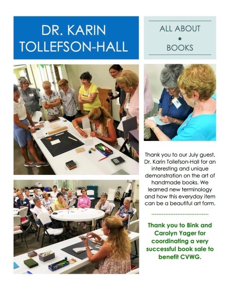 July Book Making Program