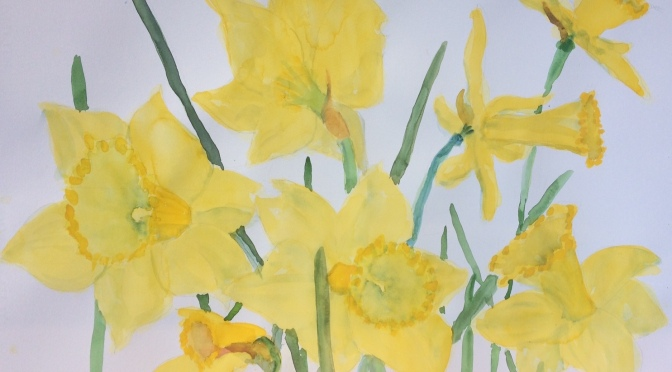 Member News and April Challenge! Paintings